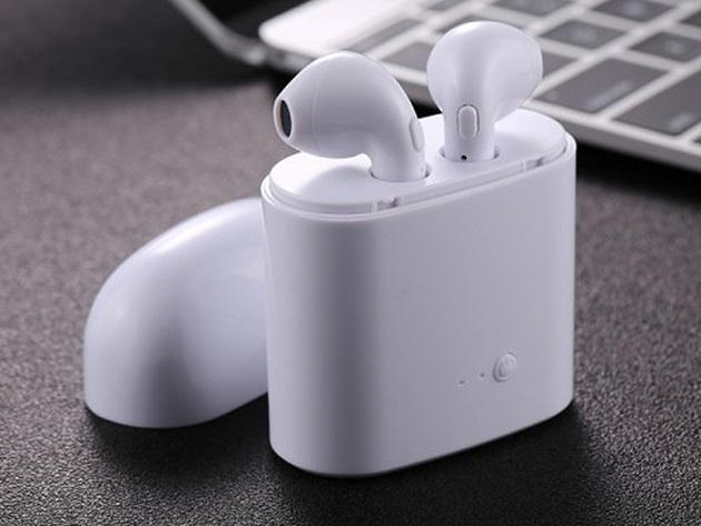 Bluetooth headset, töltő tokkal vezetéshez, sportoláshoz is- mély, lenyűgöző hangzást biztosít, zavaró kábelek nélkül