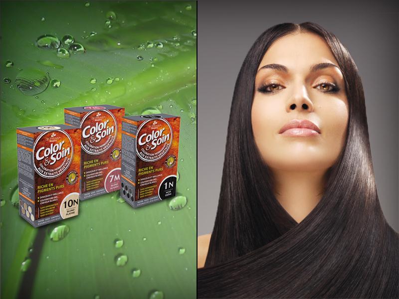 A Color&Soin kímélő hajfestékkel természetesen és egészségesen lehet színes a hajkoronád!