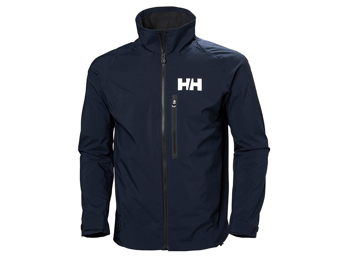 Helly Hansen HP RACING JACKET - NAVY - XL (34040_597-XL ) - AZONNAL ÁTVEHETŐ