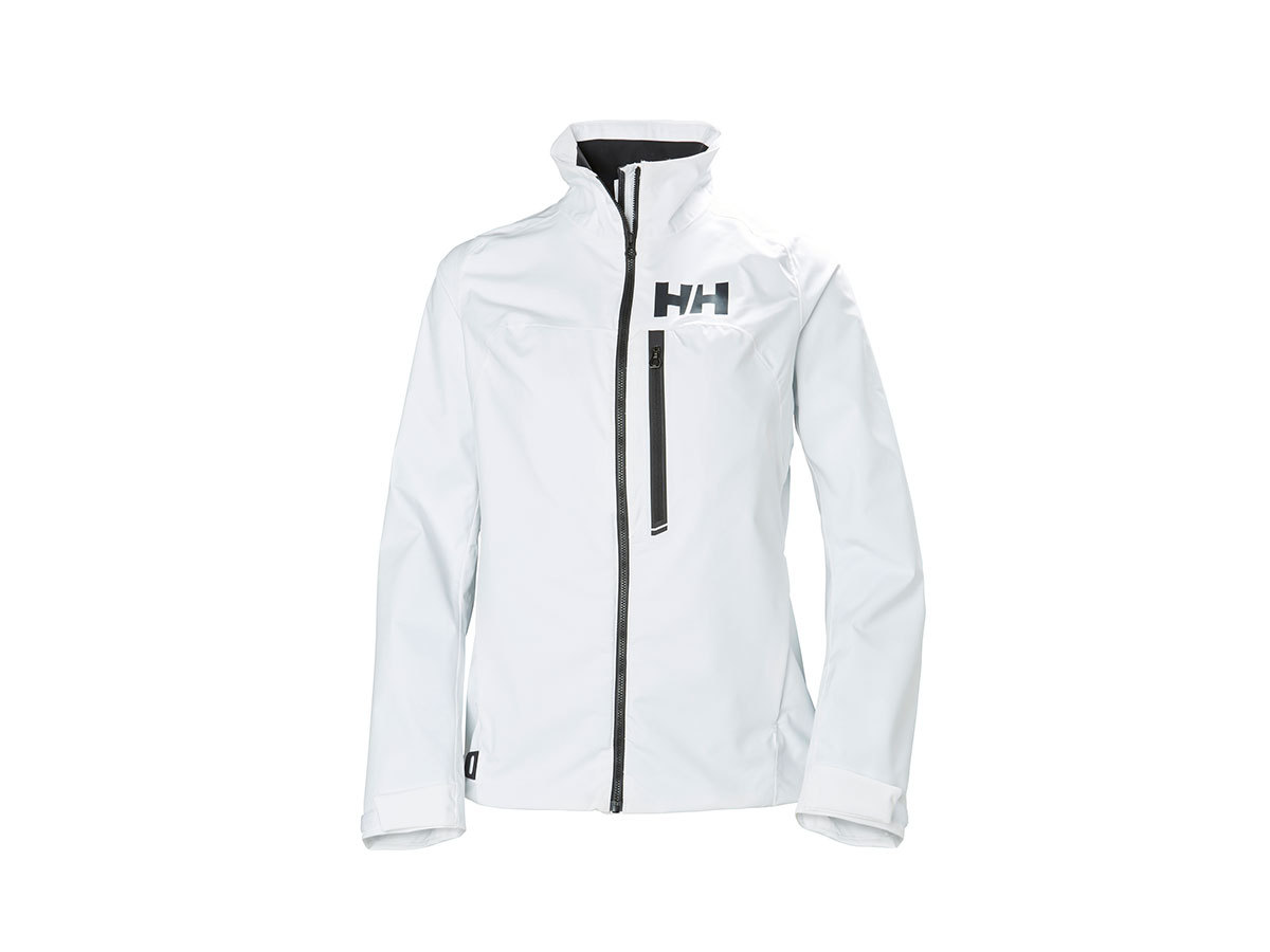 Helly Hansen W HP RACING JACKET - WHITE - XS (34069_001-XS )
