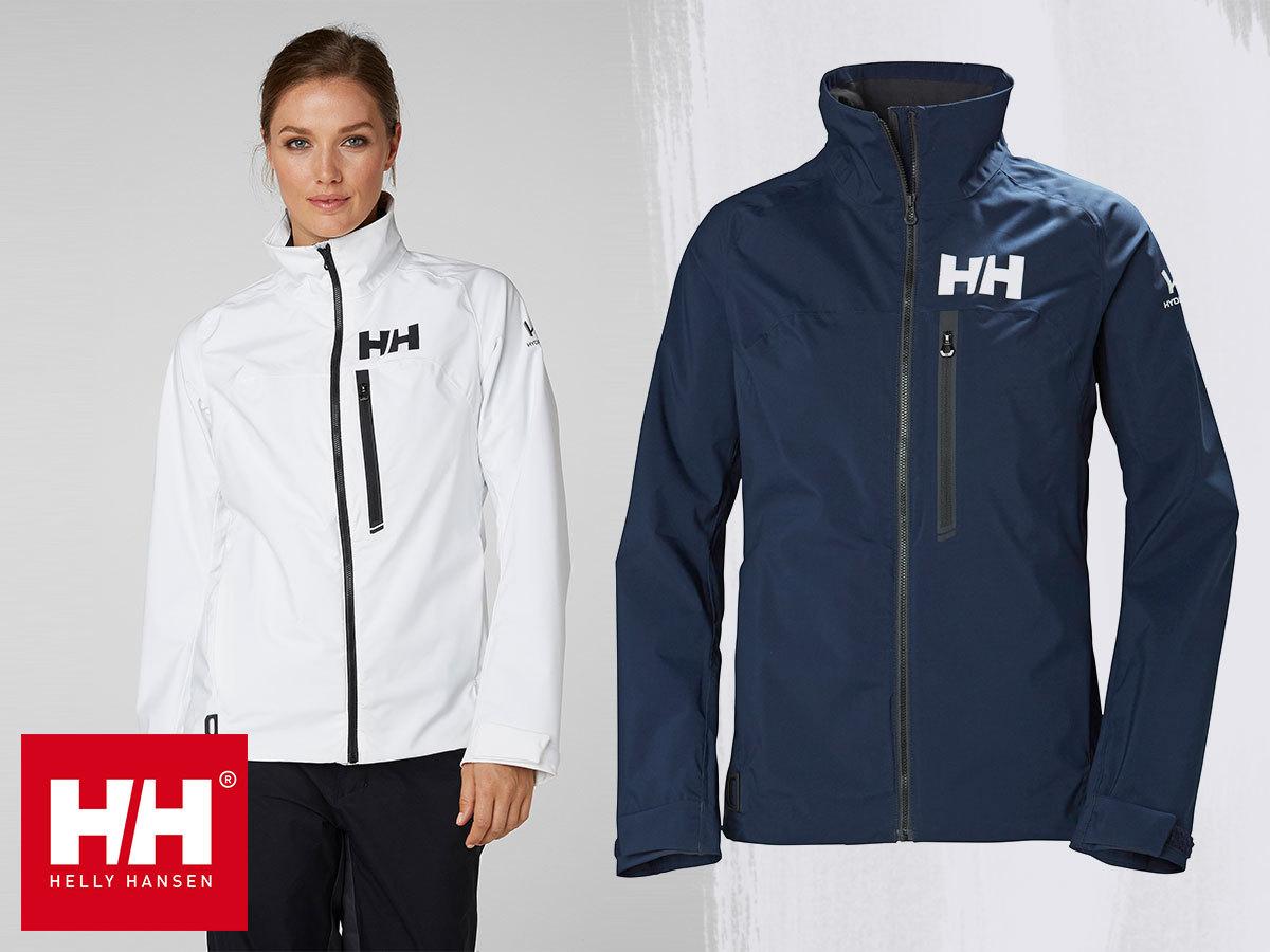 Helly Hansen W HP RACING JACKET női vízálló dzseki, akár vitorlás versenyekhez, professzionális technikai megoldásokkal