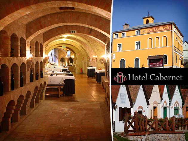 Tölts el pároddal egy színes programokkal teli feledhetetlen hétvégét Villányban, a Hotel Cabernet-ben!