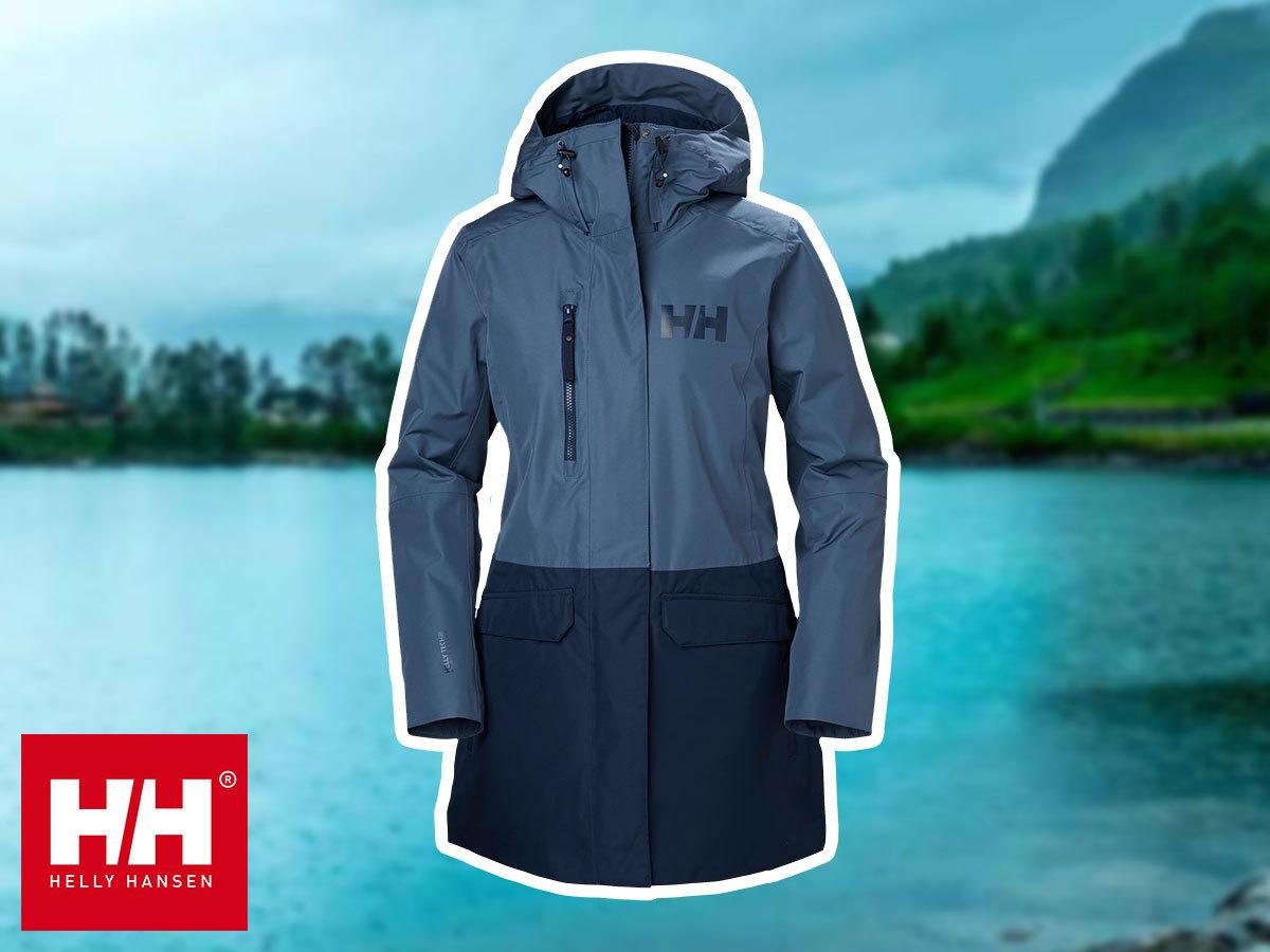 Helly Hansen W TREMONE INS COAT átmeneti női kabát - vízálló, szélálló, lélegző anyag, sportosan nőies fazon