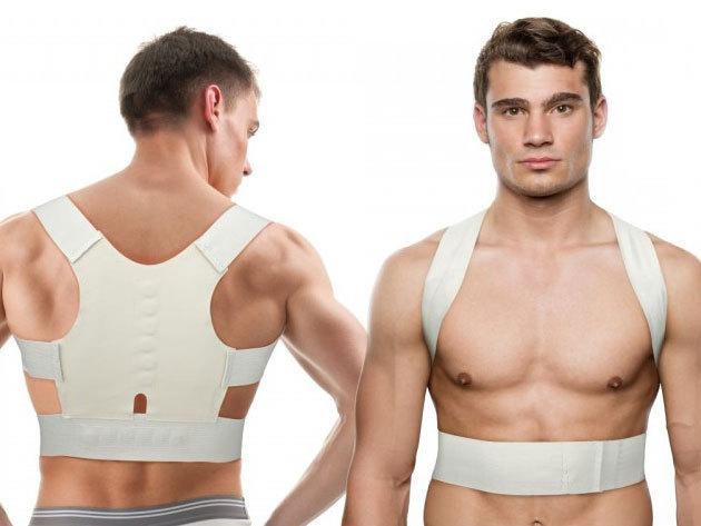 Mágneses hátpánt, tartásjavító heveder - megelőzheti a gerincbántalmakat, zavartalanul viselheted