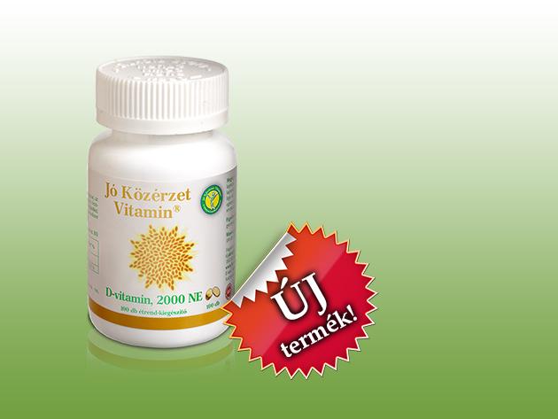 Jó Közérzet Vitamin® D Vitamin 2000 NE