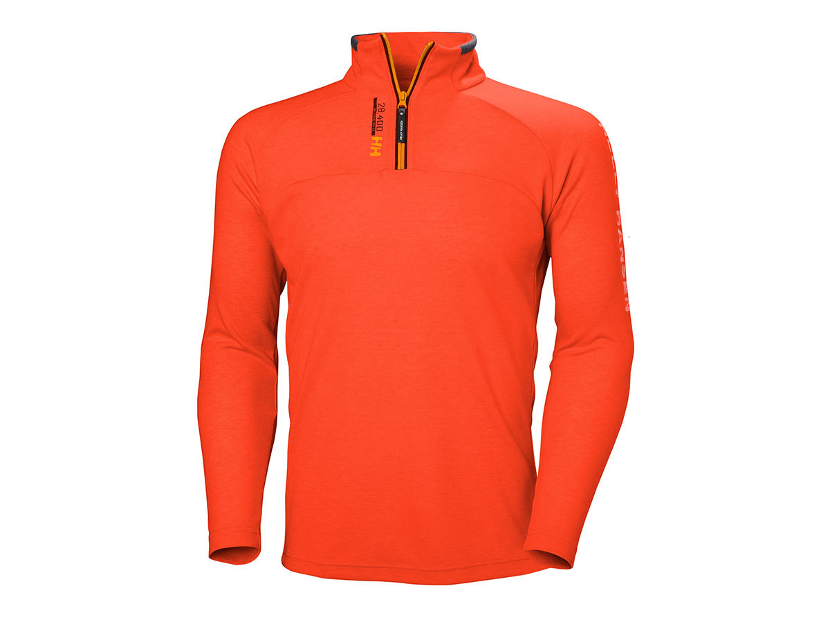 Helly Hansen HP 1/2 ZIP PULLOVER - CHERRY TOMATO - S (54213_147-S )