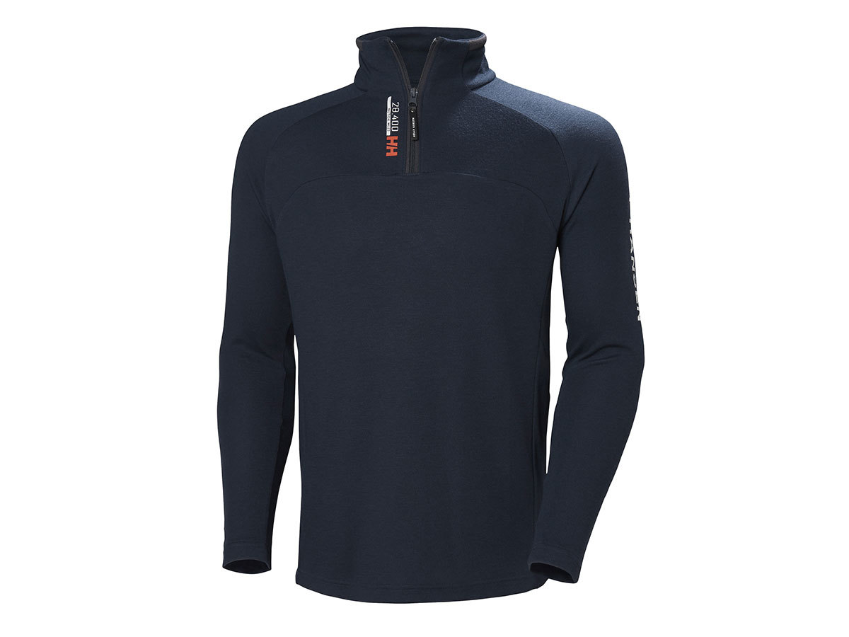 Helly Hansen HP 1/2 ZIP PULLOVER - NAVY - L (54213_598-L )