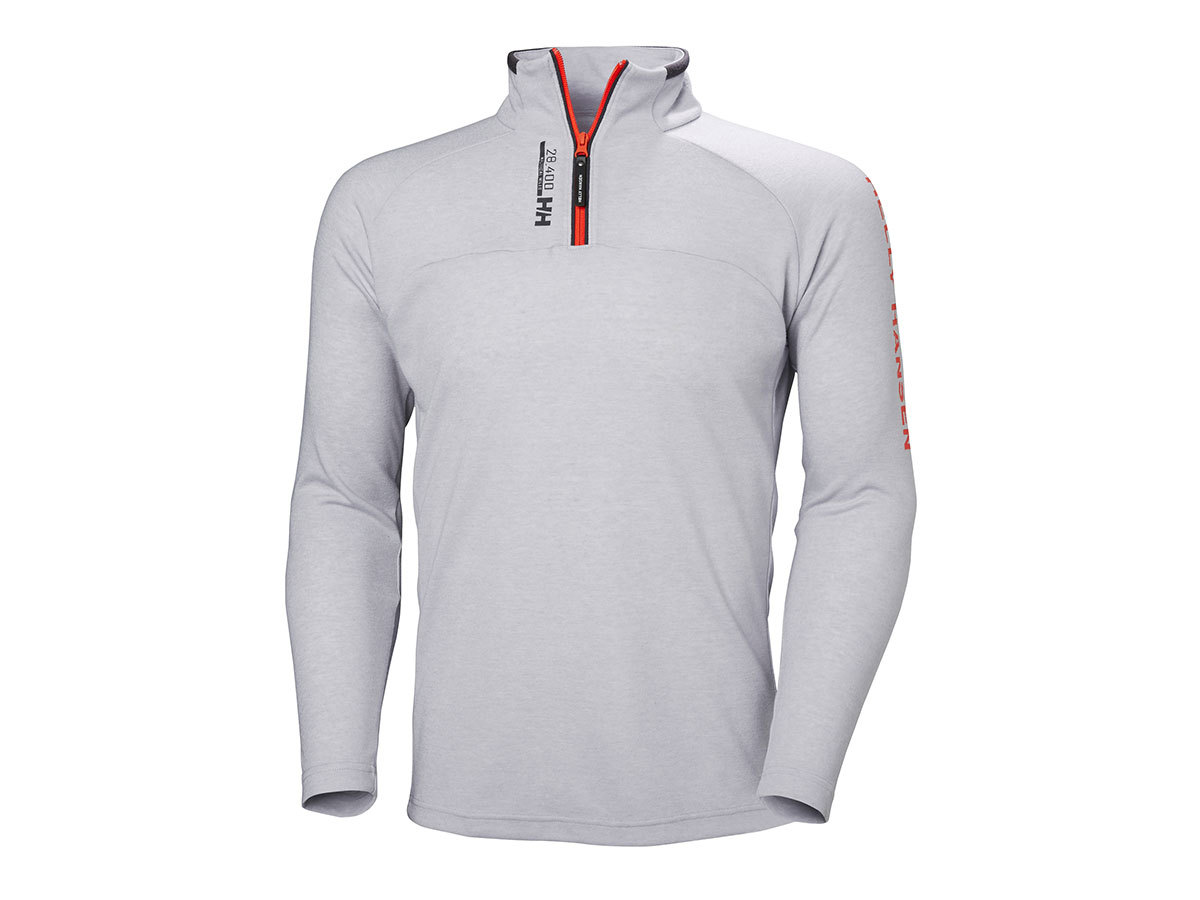 Helly Hansen HP 1/2 ZIP PULLOVER - GREY FOG MELANGE - XXL (54213_853-2XL )