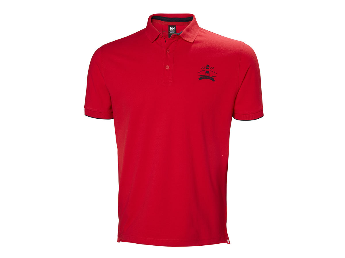 Helly Hansen MARSTRAND POLO - FLAGRED - S (53022_112-S )