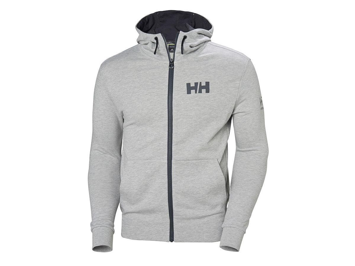 Helly Hansen HP ATLANTIC FZ HOODIE - GREY MELANGE - XL (34061_949-XL ) - AZONNAL ÁTVEHETŐ