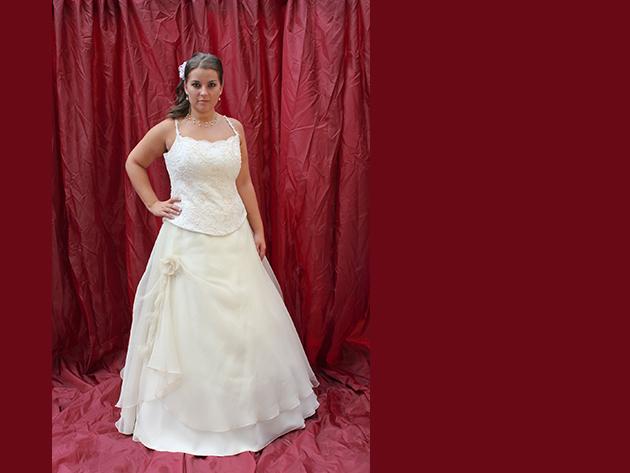 Esküvői ruha 2. kategória 1.