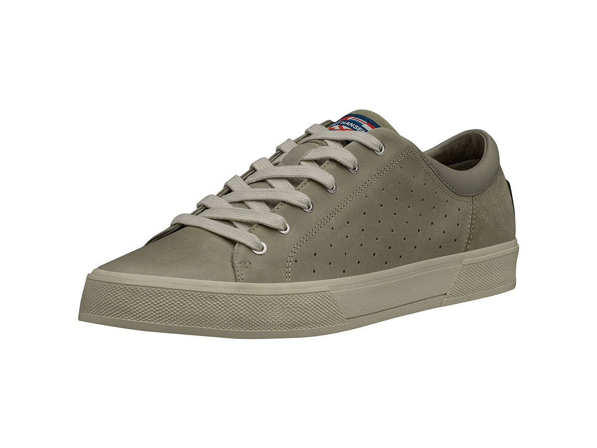 Helly Hansen COPENHAGEN LEATHER SHOE - GOAT / ALUMINUM / MOONBEA - EU 40/US 7 (11502_718-7 )