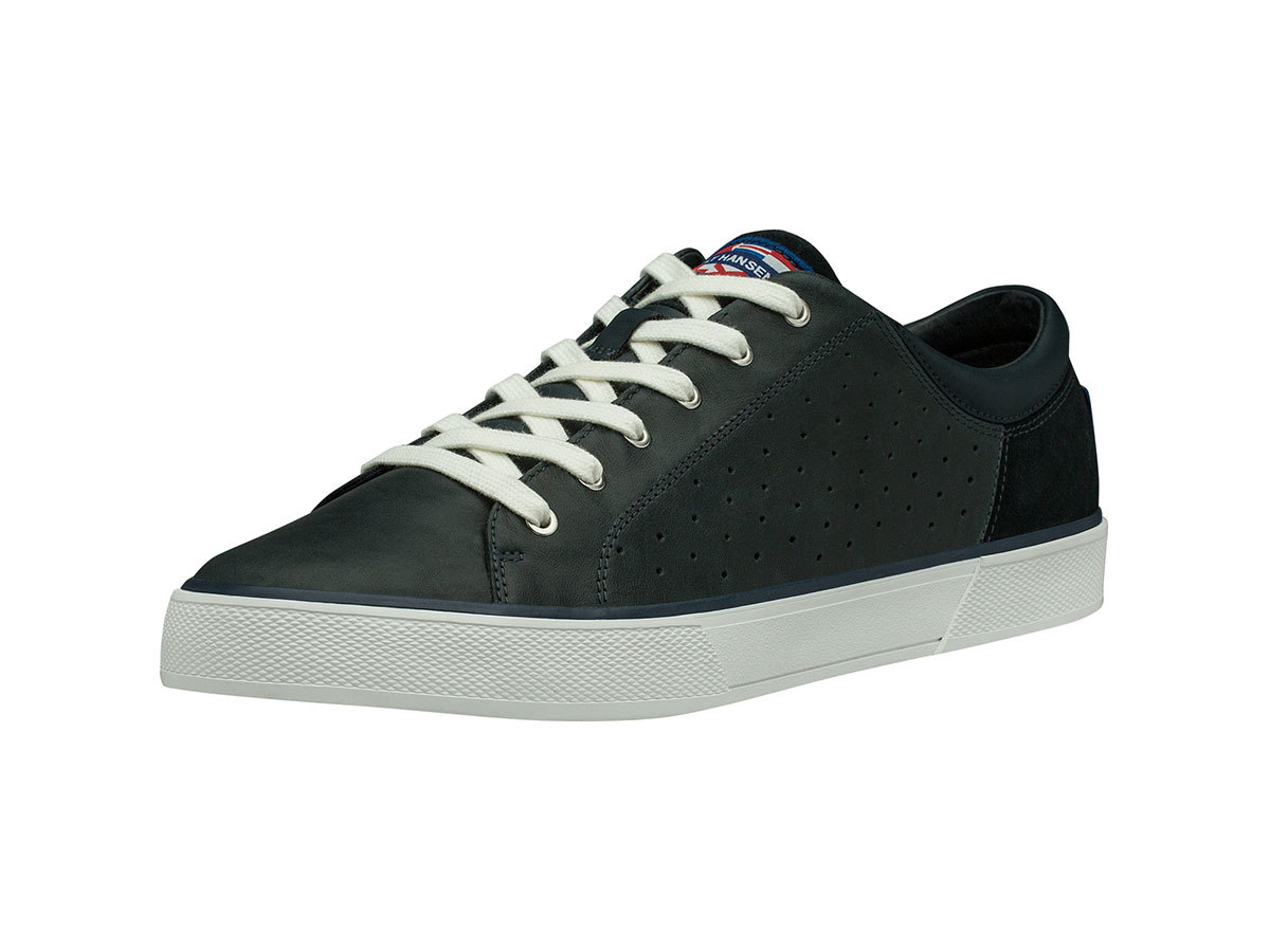 Helly Hansen COPENHAGEN LEATHER SHOE - NAVY / OFF WHITE - EU 42.5/US 9 (11502_597-9 )