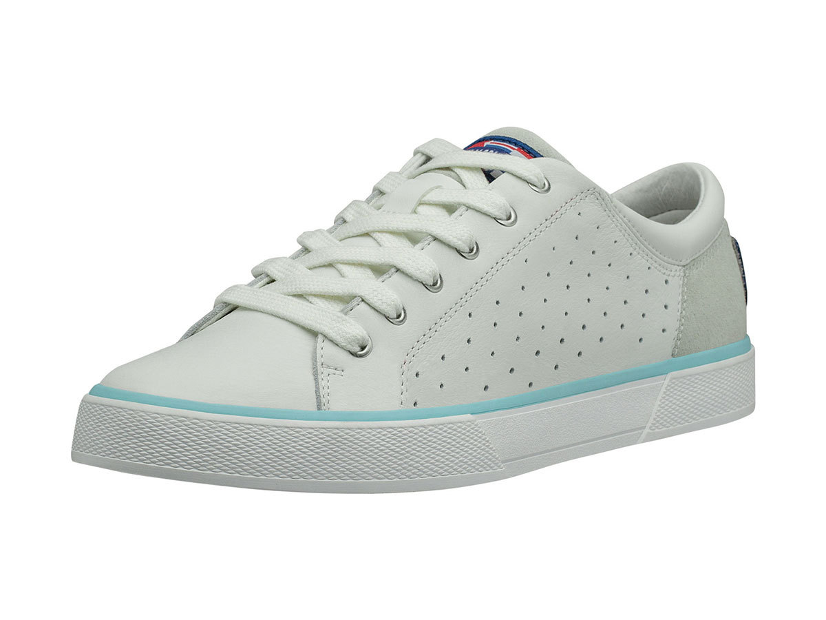 Helly Hansen W COPENHAGEN LEATHER SHOE - OFF WHITE / BLUE TINT - EU 40/US 8.5 (11503_011-8.5F )
