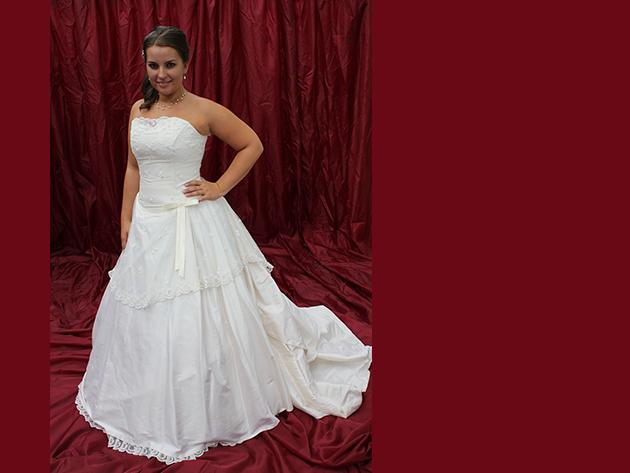Esküvői ruha 3. kategória 4.