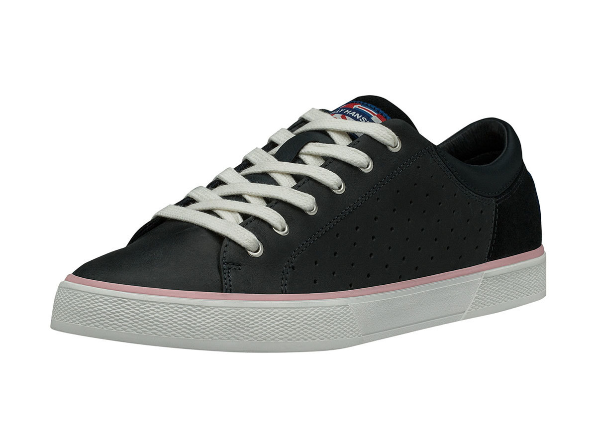 Helly Hansen W COPENHAGEN LEATHER SHOE - NAVY / POWDER PINK / OFF - EU 36/US 5.5 (11503_597-5.5F )