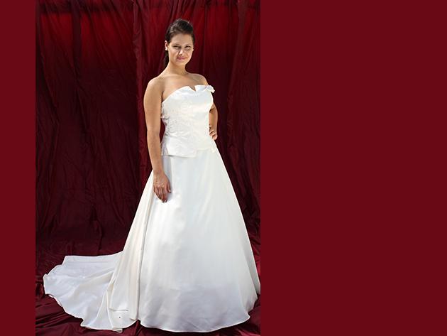 Esküvői ruha 4. kategória 1.