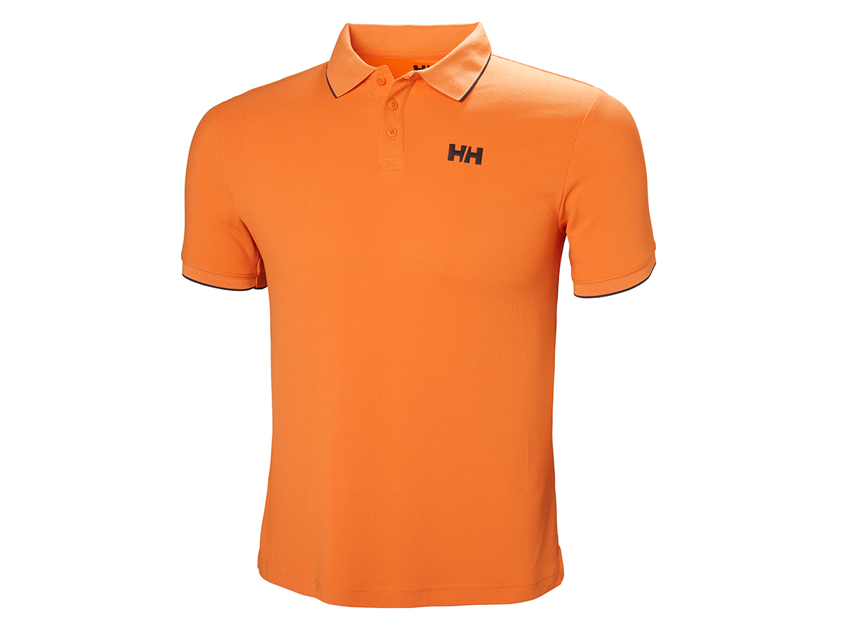 Helly Hansen KOS POLO - ORANGE PEEL - M (34068_205-M )