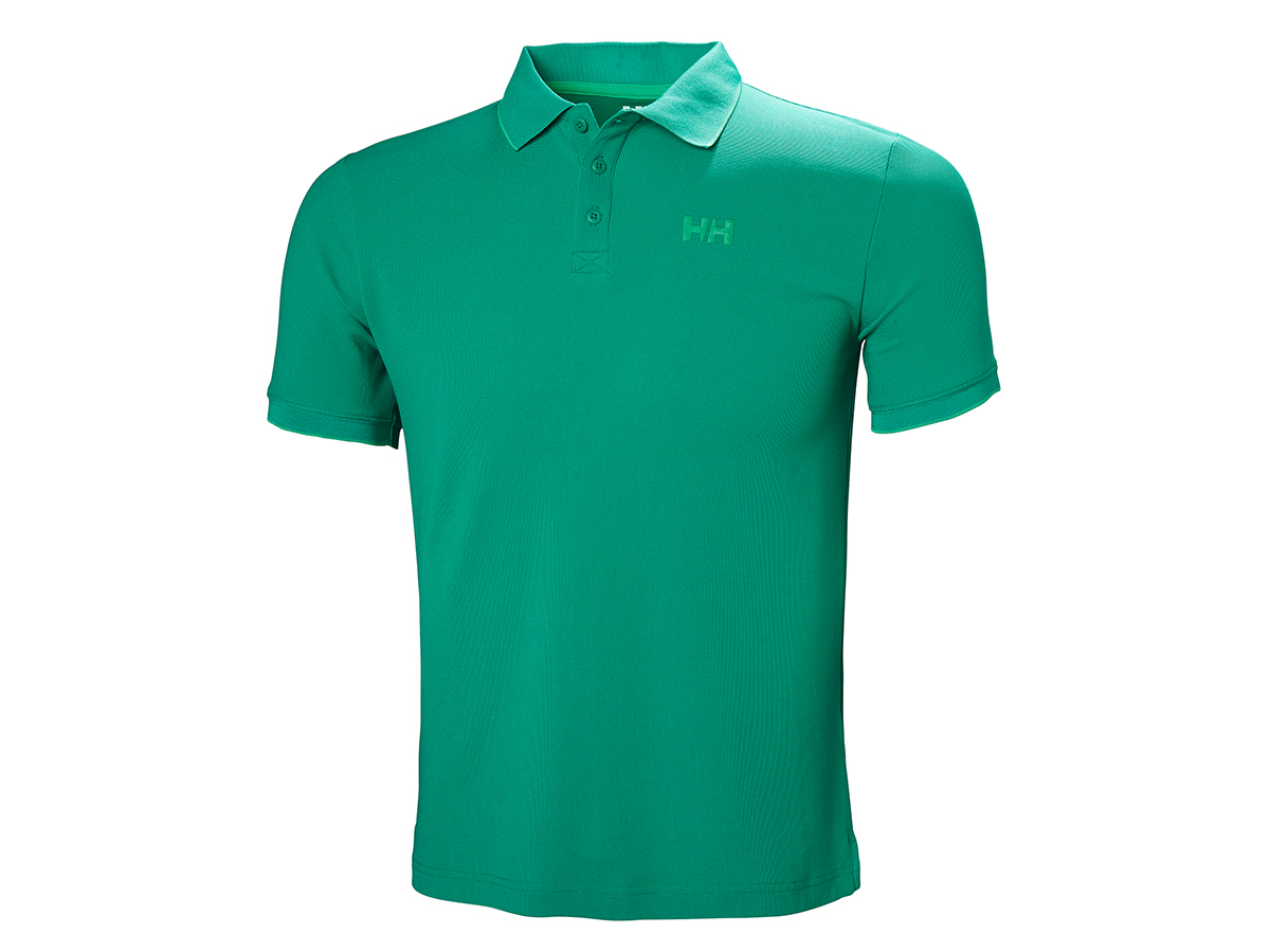 Helly Hansen KOS POLO - PEPPER GREEN - S (34068_471-S )