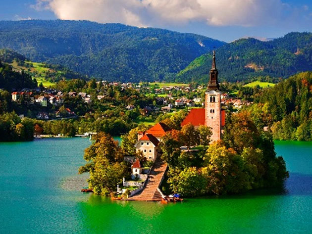 2019.07.12. / Szlovénia gyöngyszemei: Bled, Skofja Loka és a Vintgar-szurdok  / fő