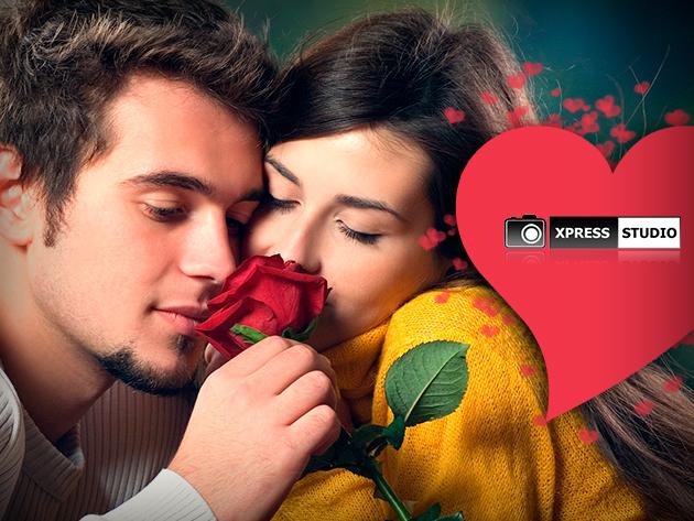 Lepd meg párodat Valentin-napon egy romantikus fotó sorozat készítésének lehetőségével!