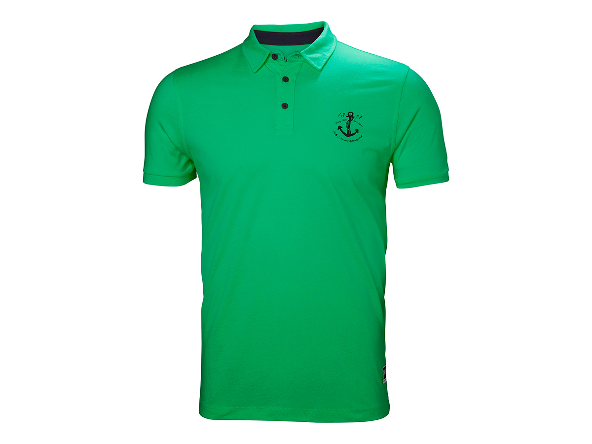 Helly Hansen FJORD POLO - PEPPER GREEN - S (53024_471-S )