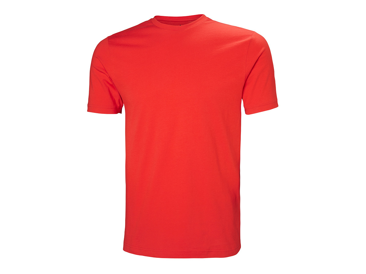 Helly Hansen CREW T-SHIRT - ALERT RED - L (33995_222-L )