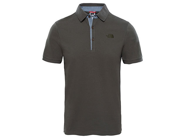 The North Face M PREMIUM POLO PIQUE NEW TAUPE GREEN T0CEV421L - M