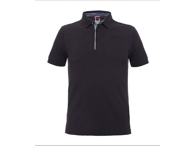 The North Face M PREMIUM POLO PIQUE TNF BLACK T0CEV4KX7 - L