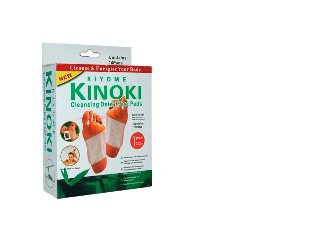 2 doboz Kinoki méregtelenítő tapasz (10 pár/doboz)