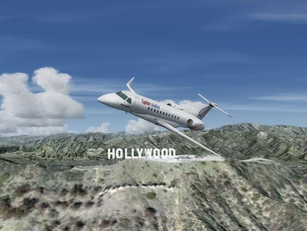 Fedezd fel Kaliforniát repülőgép szimulátorban! Több tucat látnivaló, érdekesség, máshol nem tapasztalható élmény vár rád!