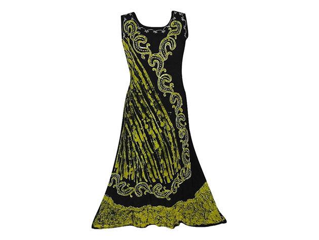 Nagy méretű hosszú ruha Indiából 2509 - arany