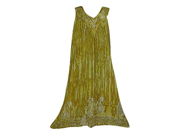 Nagy méretű hosszú ruha Indiából 2508 - arany