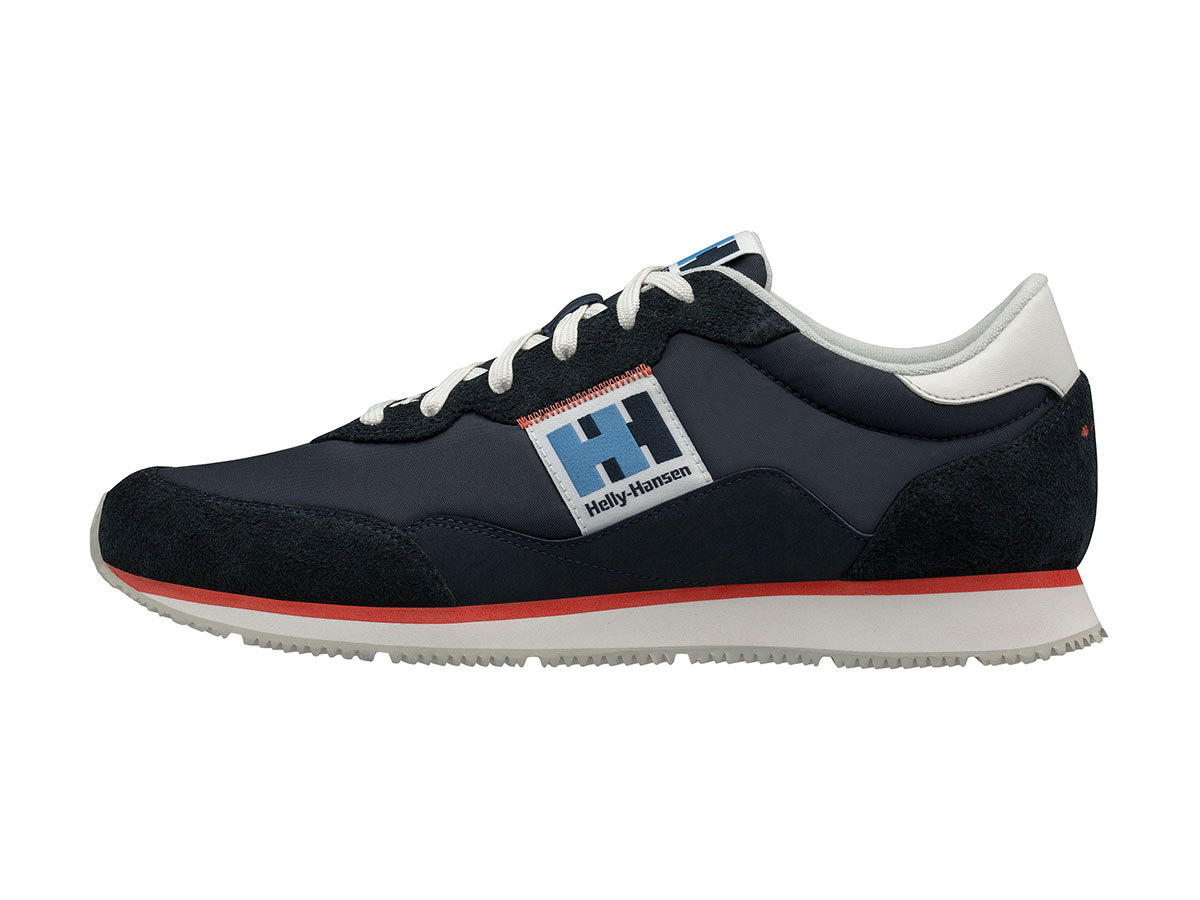 Helly Hansen RIPPLES LOW-CUT SNEAKER - NAVY / OFF WHITE / CHERRY - EU 44.5/US 10.5 (11481_597-10.5 )