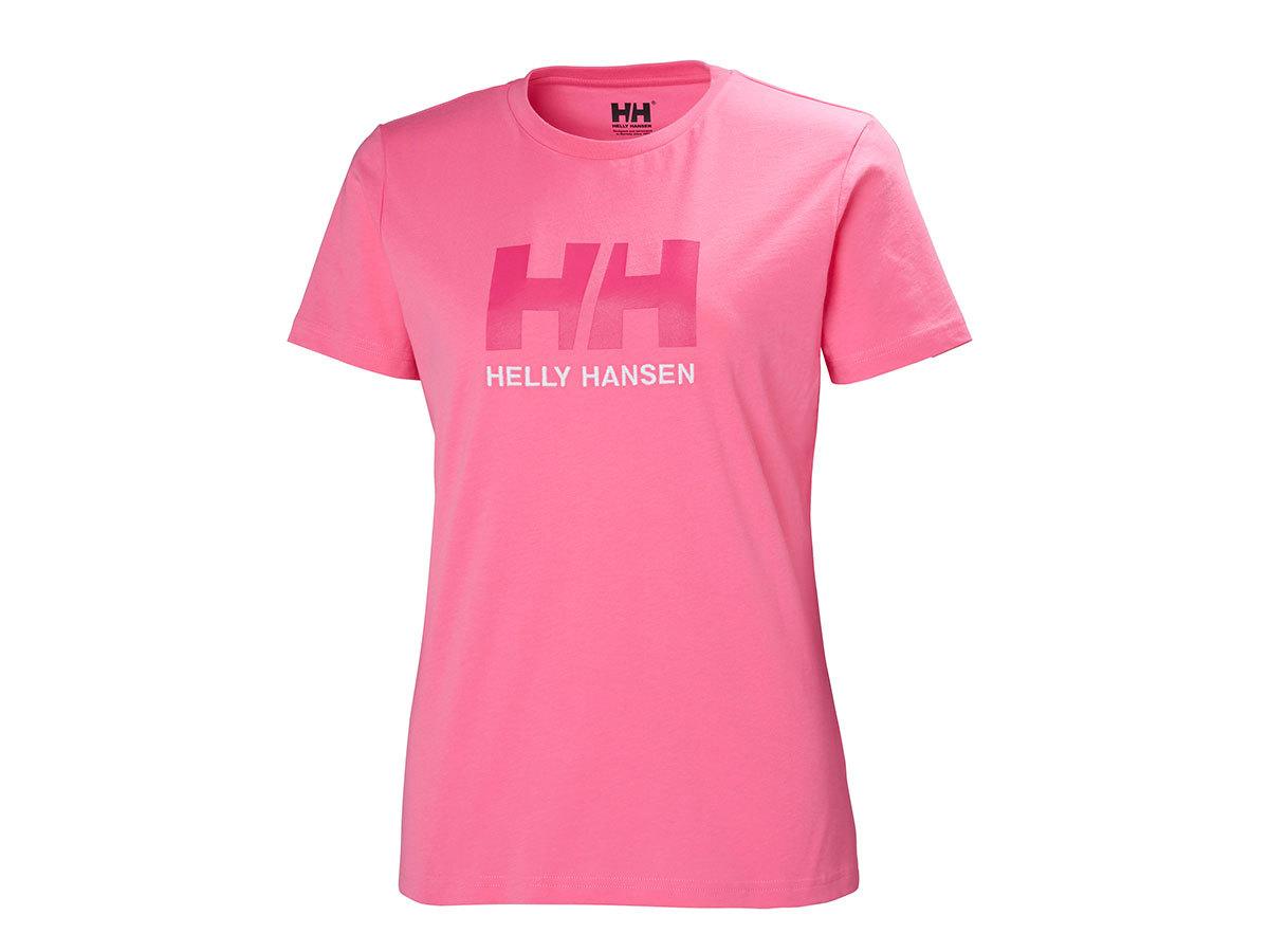 Helly Hansen W HH LOGO T-SHIRT - AZALEA PINK - L (34112_104-L ) - AZONNAL ÁTVEHETŐ