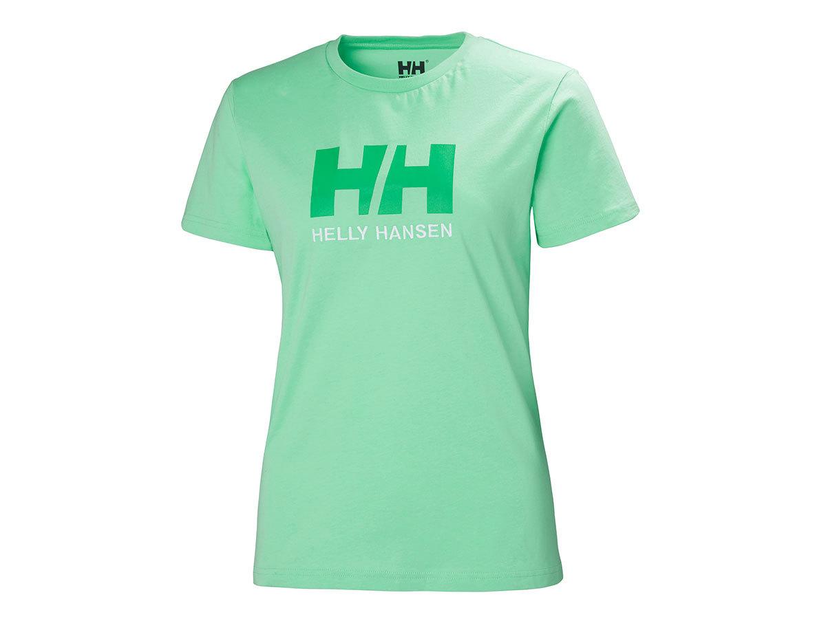 Helly Hansen W HH LOGO T-SHIRT - SPRING BUD - M (34112_492-M ) - AZONNAL ÁTVEHETŐ