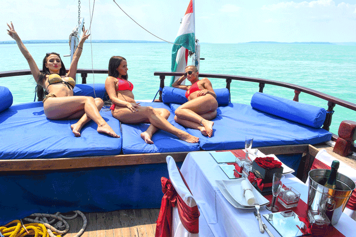 Hajós élményprogram felnőtteknek max. 20 főig