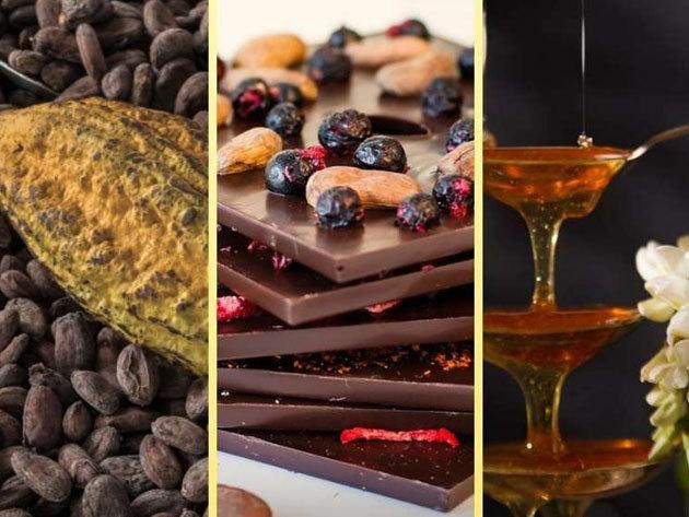 Mézes Chocorino csokoládé 90%-os kakaótartalommal (85 g), exkluzív csomagolásban is