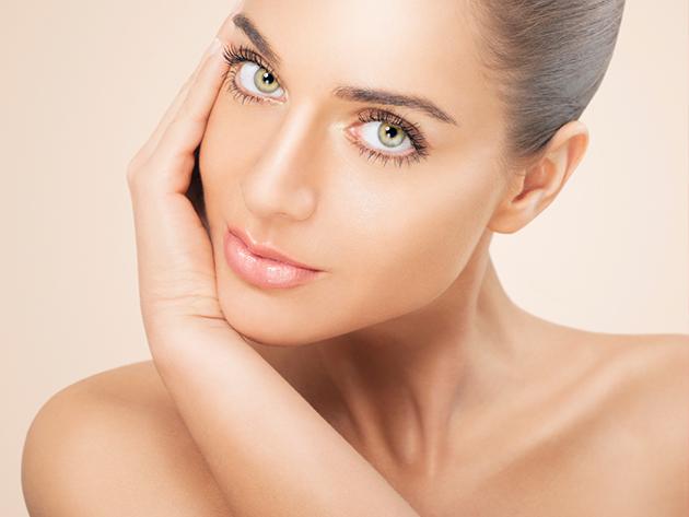 3 alkamas bőrmegújító AHA savas mélyhámlasztó kezelés + biokozmetikumos arcpakolás