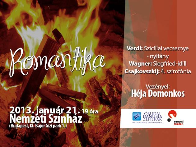 'Romantika' - Danubia Zenekar koncert - Verdi, Wagner és Csajkovszkij művek Héja Domonkos vezénylésével!