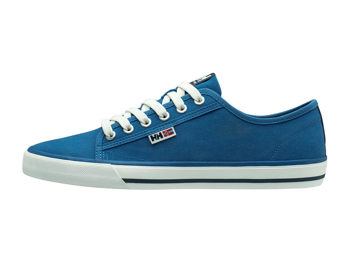 Helly Hansen FJORD CANVAS SHOE V2 - VALLARTA BLUE / DARK SLAT - EU 40.5/US 7.5 (11465_538-7.5 )