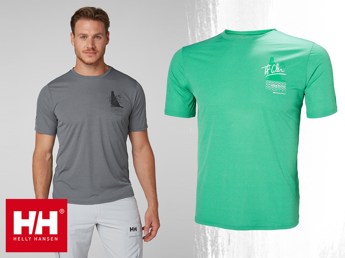 90c4bdb6fd Helly Hansen HP CIRCUMNAVIGATION T kerek nyakú könnyű póló férfiaknak
