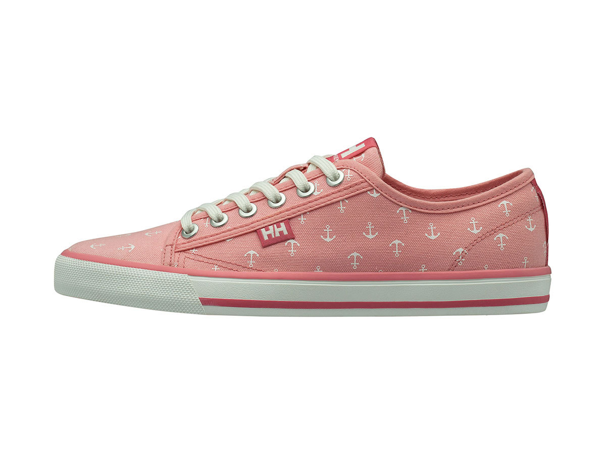Helly Hansen W FJORD CANVAS SHOE V2 - FLAMINGO PINK / OFF WHITE - EU 37/US 6 (11466_185-6F )