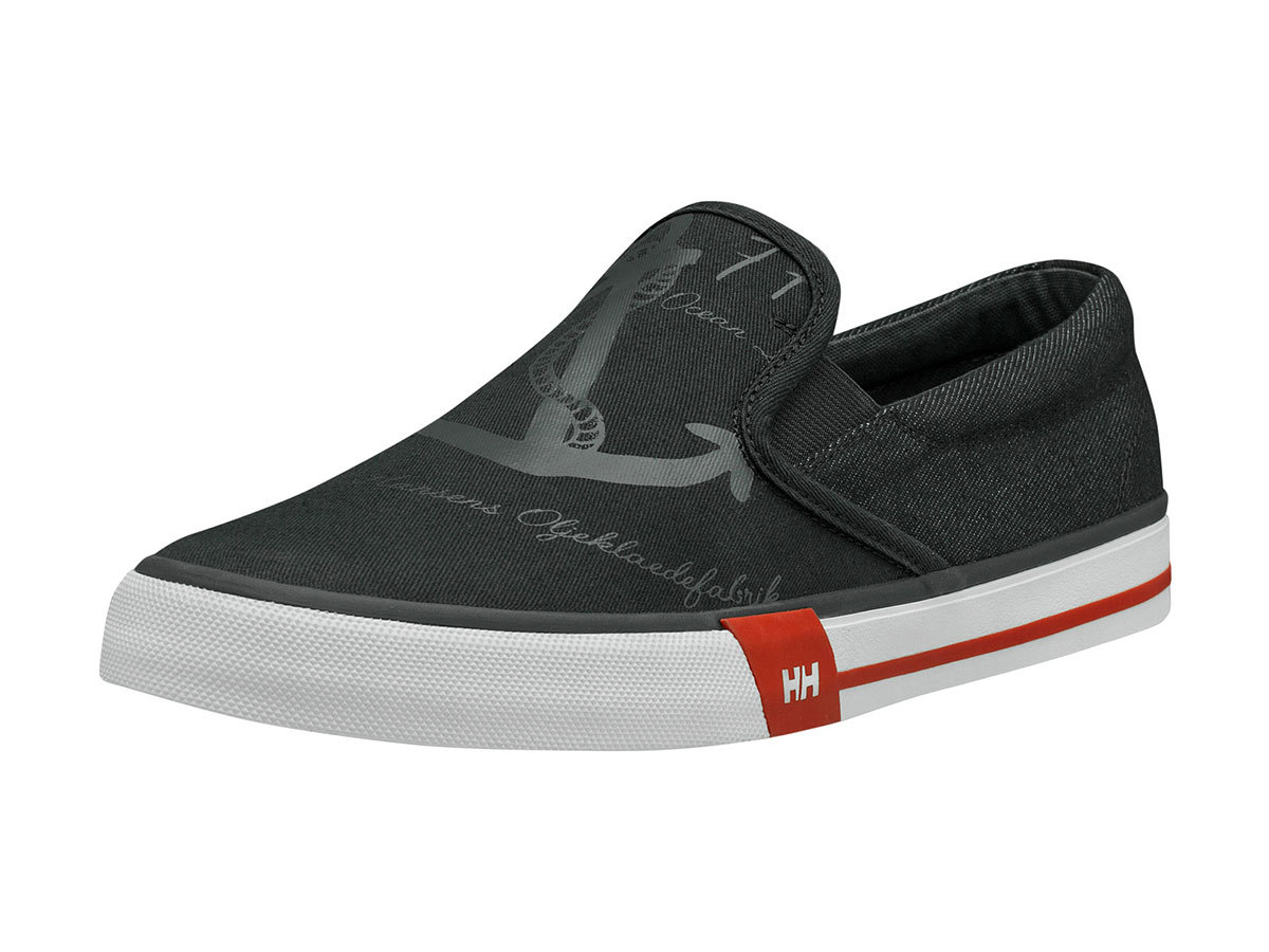 Helly Hansen COPENHAGEN SLIP-ON SHOE - MAGNET / CHERRY TOMATO / - EU 44/US 10 (11484_964-10 )