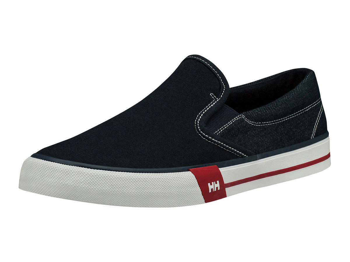 Helly Hansen COPENHAGEN SLIP-ON SHOE - NAVY / GREY FOG / OFF WHI - EU 40.5/US 7.5 (11484_597-7.5 )