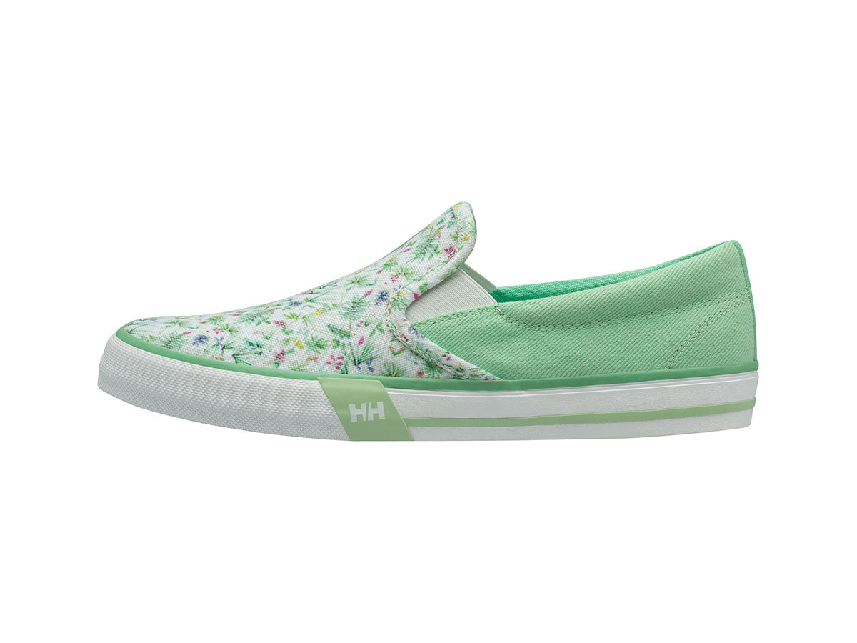 Helly Hansen W COPENHAGEN SLIP-ON SHOE - LIGHT MINT / SPRING BUG / - EU 40.5/US 9 (11485_492-9F )