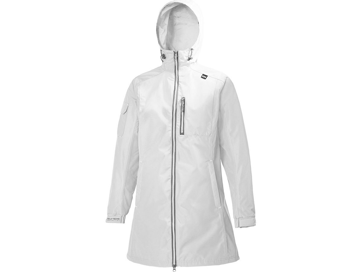 Helly Hansen W LONG BELFAST JACKET - WHITE - M (55964_002-M )