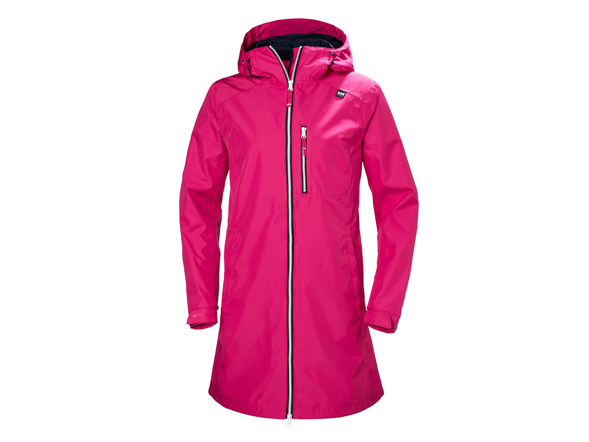 Helly Hansen W LONG BELFAST JACKET - DRAGON FRUIT - M (55964_181-M )