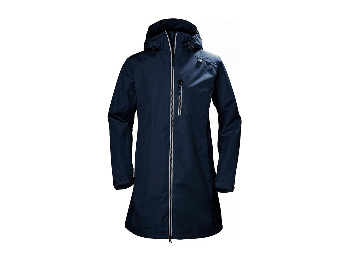 Helly Hansen W LONG BELFAST JACKET - EVENING BLUE - M (55964_692-M )