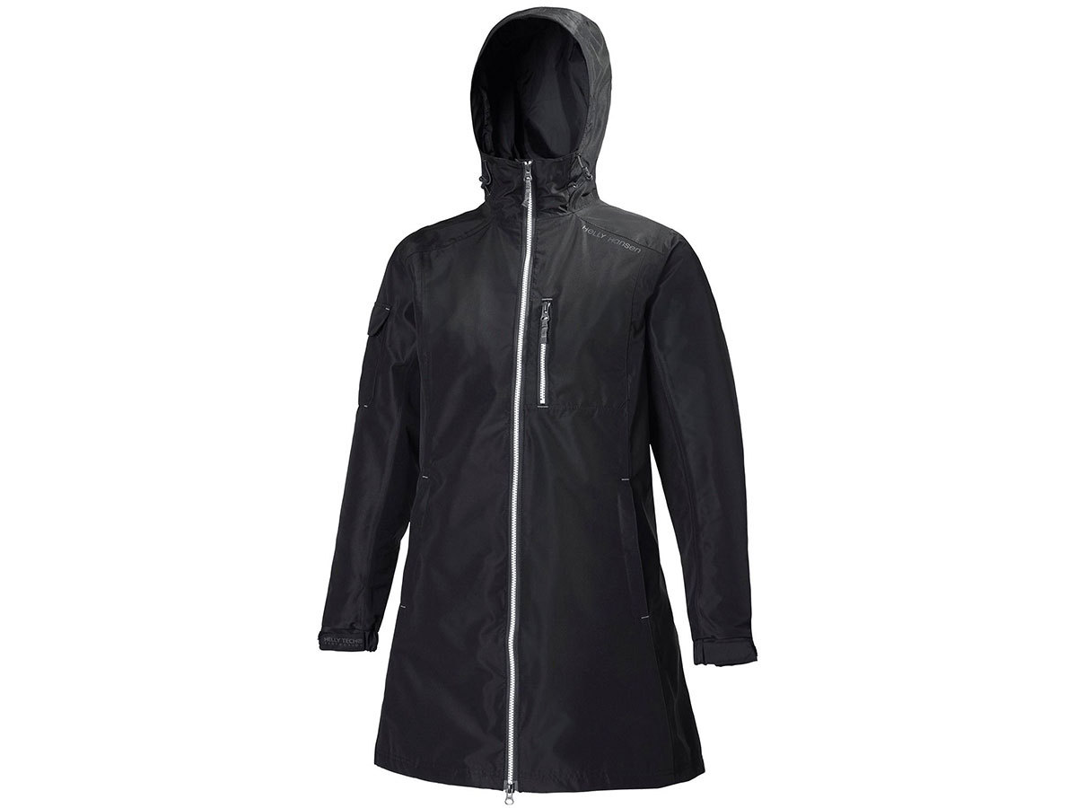 Helly Hansen W LONG BELFAST JACKET - BLACK - S (55964_991-S )